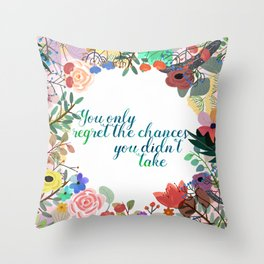 Some Inspiration Throw Pillow