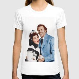 Kathryn Grayson and Howard Keel T-shirt