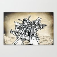 transformer Canvas Prints featuring Transformer by Dave Houldershaw