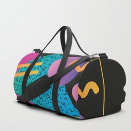 Memphis Pattern 24 - 80s / 90s Retro Duffle Bag
