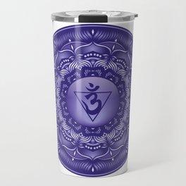 Third Eye Mandala Chakra #09 Travel Mug