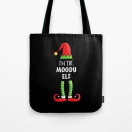 Moody Elf Family matching Christmas Gift Tote Bag
