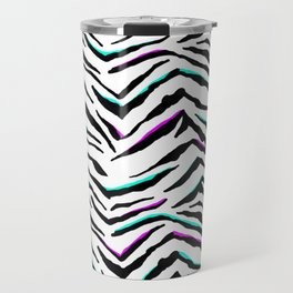 Zazzy Zebra Animal Print Travel Mug