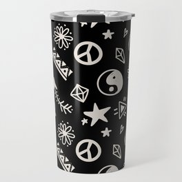 BOHEMIAN BOHO PATTERN 1 Travel Mug