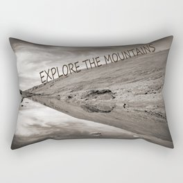 EXPLORE THE MOUNTAINS Rectangular Pillow