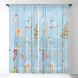 NUTCRACKER WEIM Sheer Curtain