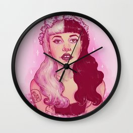 strawberry milk tears Wall Clock
