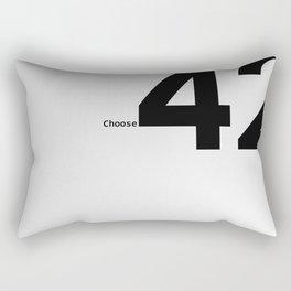 Choose 42 for your Towel Day Rectangular Pillow