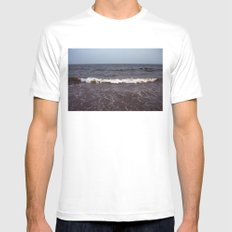 Coney Island MEDIUM Mens Fitted Tee White