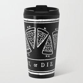 Eat, or Die (black) Travel Mug