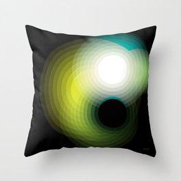 Black Hole by Friztin Throw Pillow