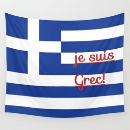 je suis Grec Wall Tapestry