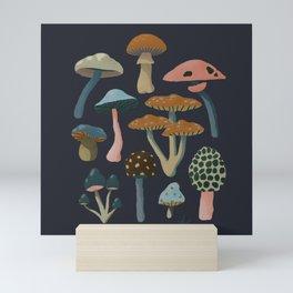 Scandinavian Fungi Mini Art Print
