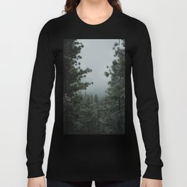 Backwoods Winter: Ponderosa Pines, Washington Long Sleeve T-shirt