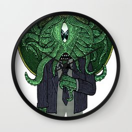 Eye of Cthulhu Wall Clock