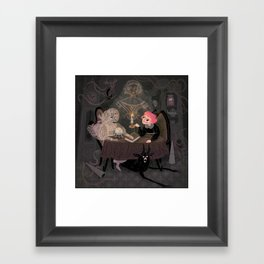 The Seance Framed Art Print