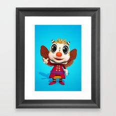 Bumble King Framed Art Print