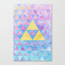 Zelda Geometry Canvas Print