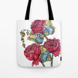 Color Flutter II Tote Bag