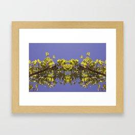 Asymmetrical Design Framed Art Print