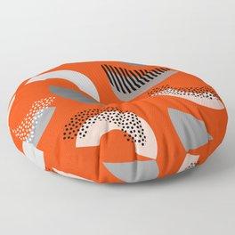 Half-circles Floor Pillow