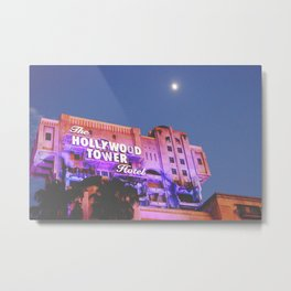 Hollywood Tower of Terror Metal Print