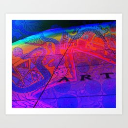 Art Wall Collage Art Print