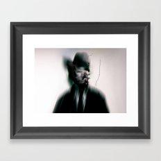 I don't belong here Framed Art Print