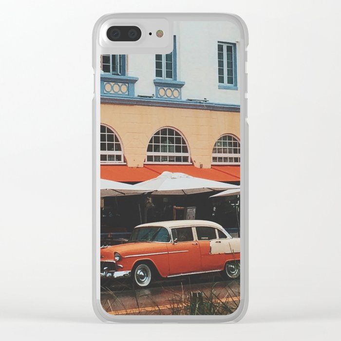 Art Deco Heaven, Miami Beach Clear iPhone Case