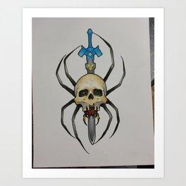 skulltula Art Print