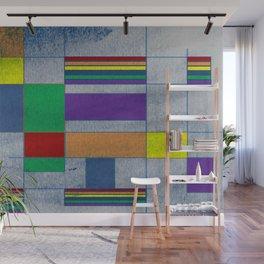 Mid-Century Modern Art - Rainbow Pride 1.0 Wall Mural
