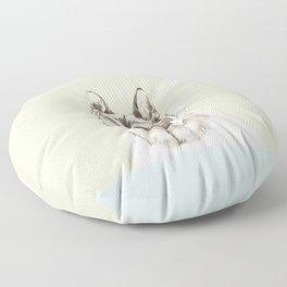 Diver Dog Floor Pillow