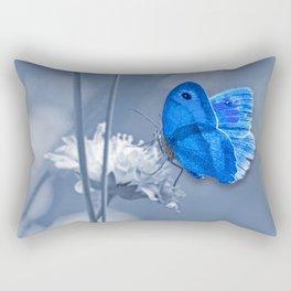 Blue butterfly Rectangular Pillow