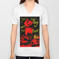 ali gulec V-neck T-shirts featuring Ali by Maxim Garg