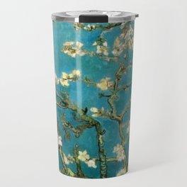 Almond Blossoms Vincent Painting Van Gogh Travel Mug