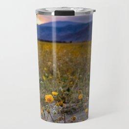 Anza Borrego Sunflowers Travel Mug