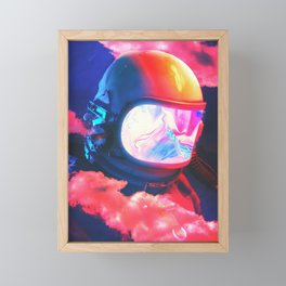 In This Clouds Framed Mini Art Print