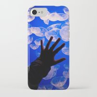 the life aquatic iPhone & iPod Cases featuring Life Aquatic by Michelle Fay