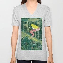Spring in the jungle Unisex V-Neck