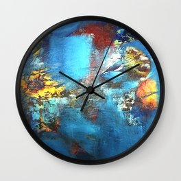 Deeply In Tune Wall Clock