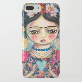 The heart of Frida Kahlo  iPhone Case