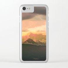 Escaping  -  Mountains - Dachstein, Austria Clear iPhone Case