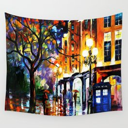 The Light Tardis Wall Tapestry