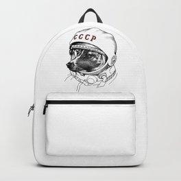 Laika, space traveler Backpack