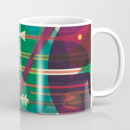 NASA Retro Space Travel Poster #5 Coffee Mug