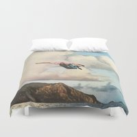 fall Duvet Covers featuring Fall by Sarah Eisenlohr
