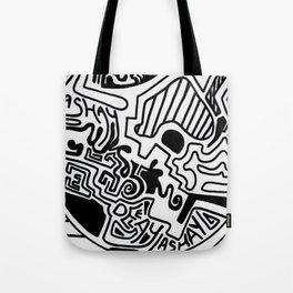 Print work  Tote Bag