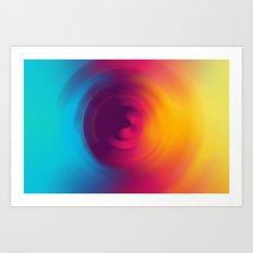 Colorful MIX Art Print