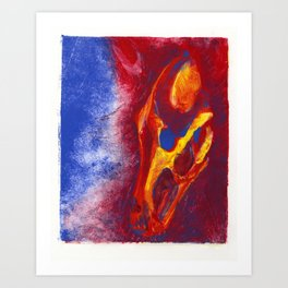 Hell Hound Art Print