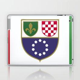 Bosnia and Herzegovina flag emblem Laptop & iPad Skin